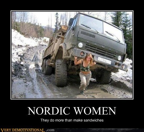 nordic,Pure Awesome,strong,women