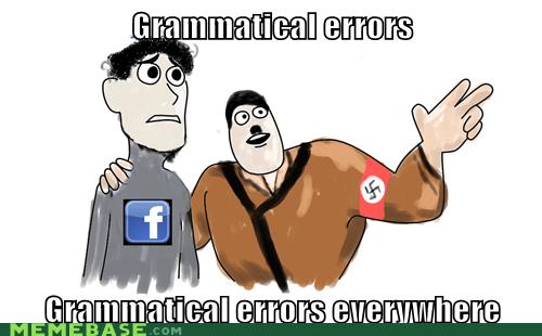 annoying,annoying facebook girl,facebook,girl,grammar,nazis