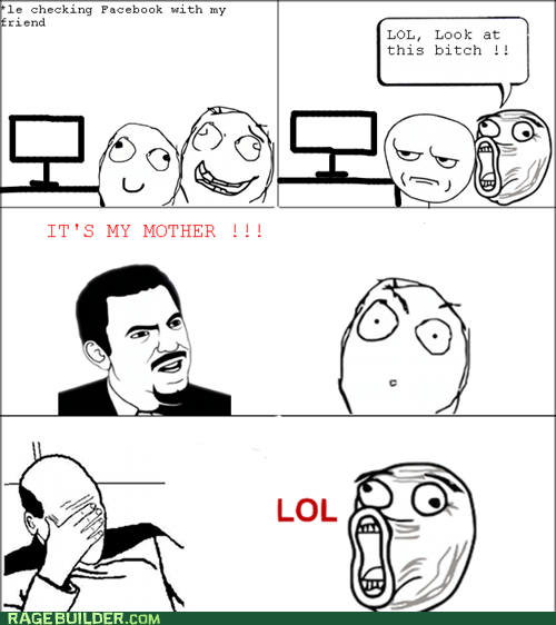 facebook picard facepalm Rage Comics your mom - 5764551936