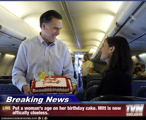 birthday,Mitt Romney,political pictures,women