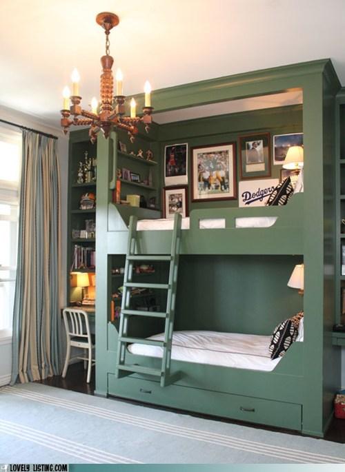 bedroom,bunkbed,classy,kids
