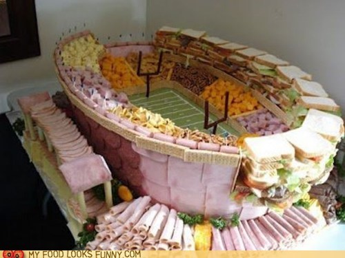 cold cuts,football,sandwiches,snacks,stadium,super bowl