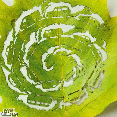 art cars carving environment gas leaf - 5764821504