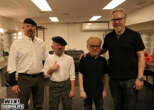 bust discovery g rated Hall of Fame model mythbusters nerdgasm science sculpture win