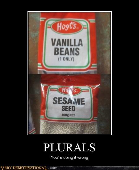 grammar beans plural funny - 5764870656
