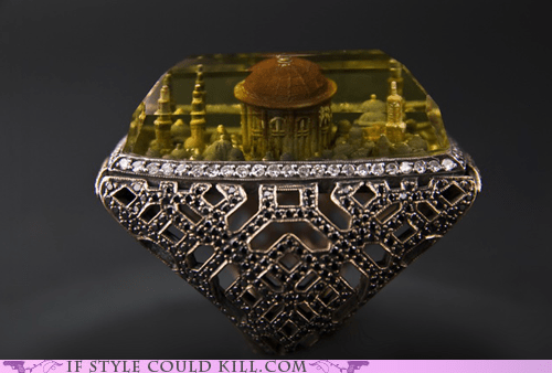 Ring of the Day: Portable Religion