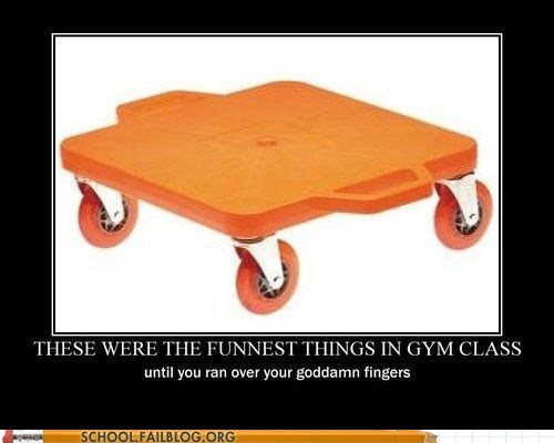 fingers gym class Hall of Fame nostalgia remember this scooter - 5765322240