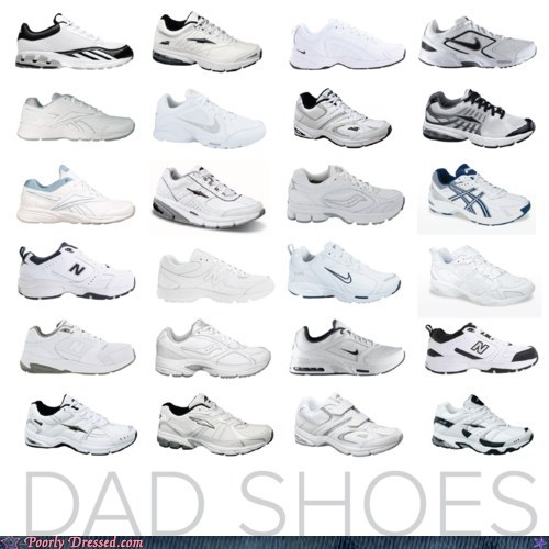 dad dad shoes Father parenting shoes sneakers tennis shoes - 5765449984