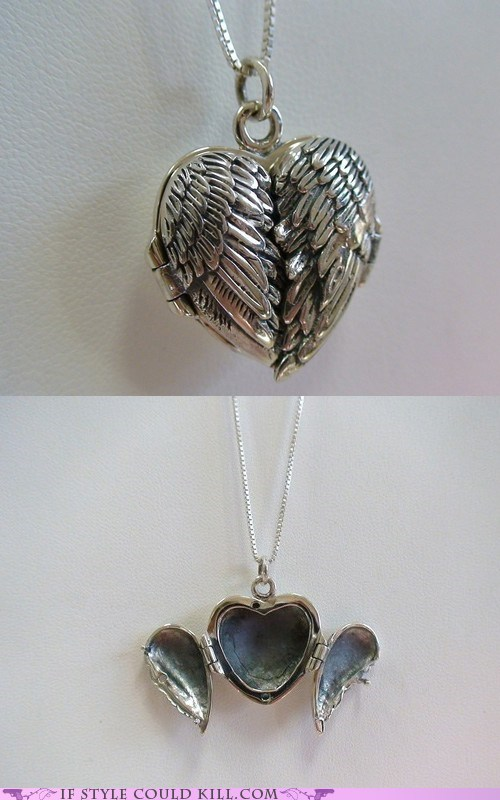 cool accessories heart locket necklaces - 5765495808