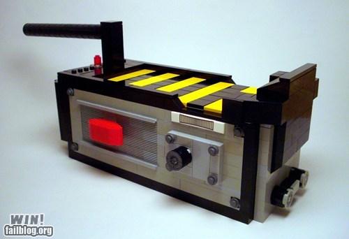 80s Ghostbusters lego model Movie nerdgasm toy - 5765560832