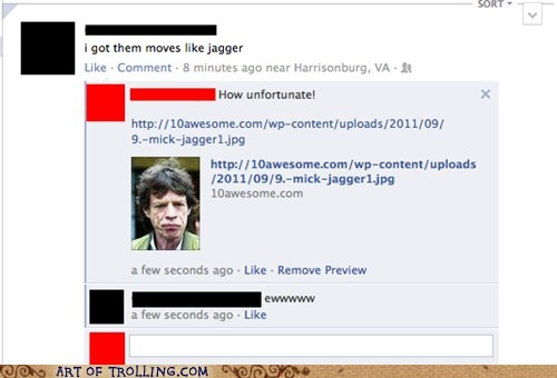 facebook jagger lyrics old