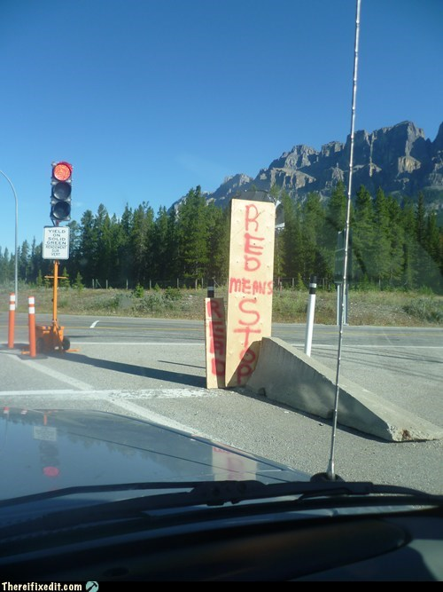 Alberta traffic lights