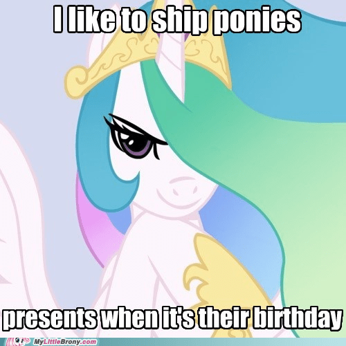 birthday,celestia,good intentions celestia,meme,shipping