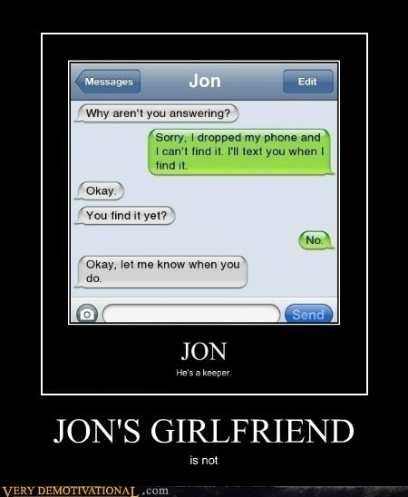 girlfriend idiots jon wtf - 5767133440