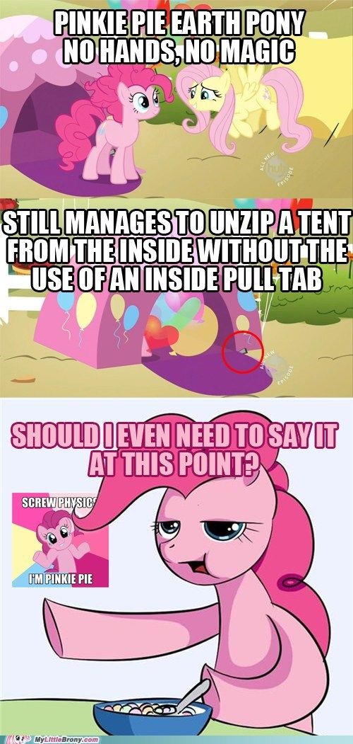 comics fluttershy i dunno lol pinkie pie screw physics - 5767165440