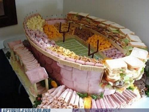 food football stadium tailgate win