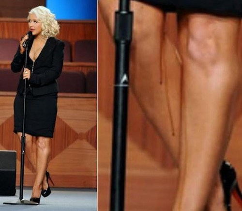 christina aguilera Lifestyle of the Rich and Famous spray tan - 5767874816