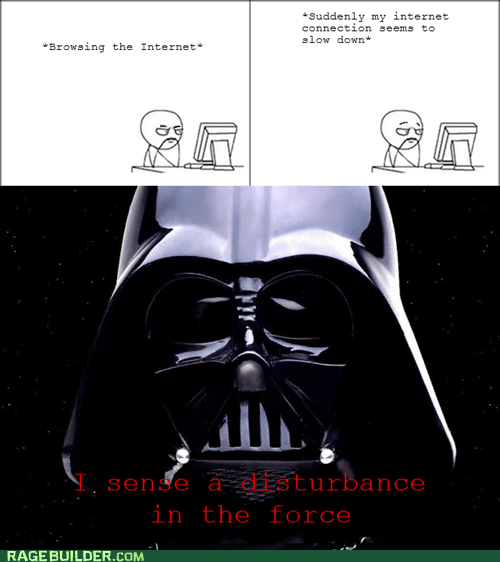 internet Rage Comics star wars the force - 5768205056