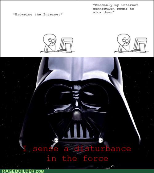 internet Rage Comics star wars the force - 5768205056