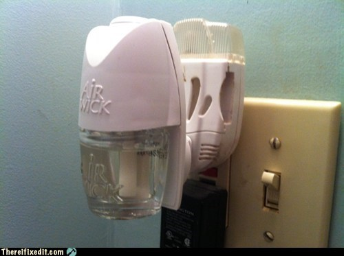 air freshener,outlet,overkill