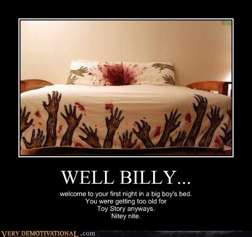 bed billy scary Terrifying zombie - 5768484352