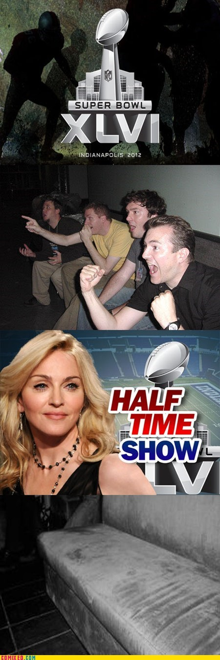 halftime show,Madonna,reaction guys,sooper bowl,super bowl