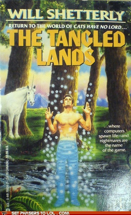 abs book covers books cover art lands nightmare science fiction tangled unicorns wtf - 5768677632