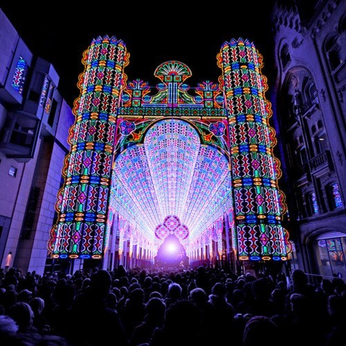belgium,Light Festival,Luminarie De Cagna