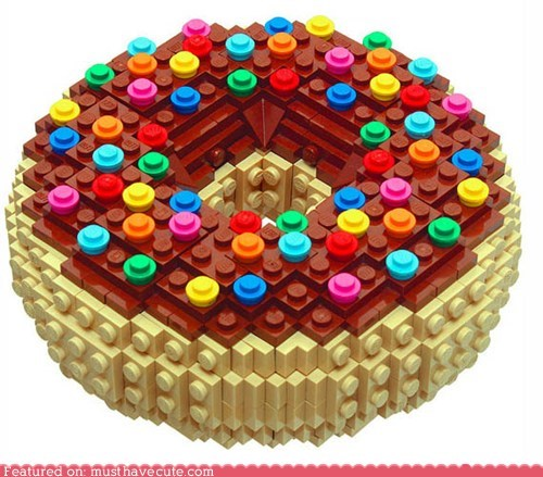 blocks donut lego plastic toys - 5768865536