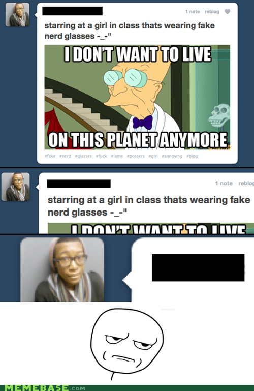 glasses hipster hypocrite i dont want to live on this planet anymore - 5769111552