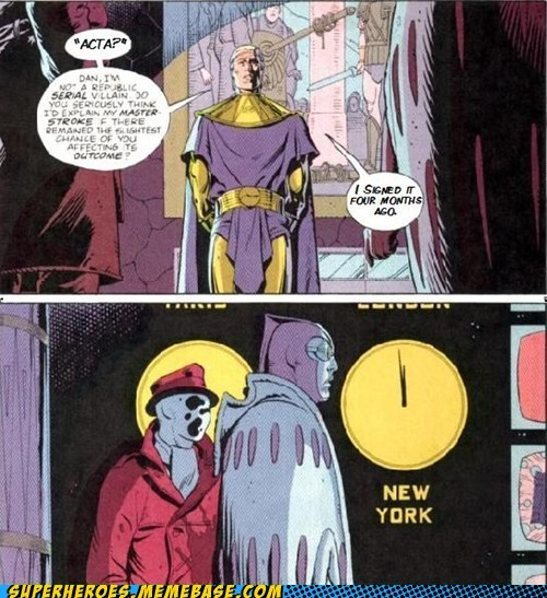 Acta signed Super-Lols unfortunate watchmen - 5769122304