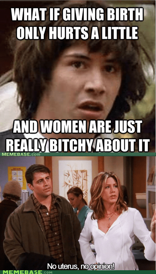 birth conspiracy keanu rules uterus