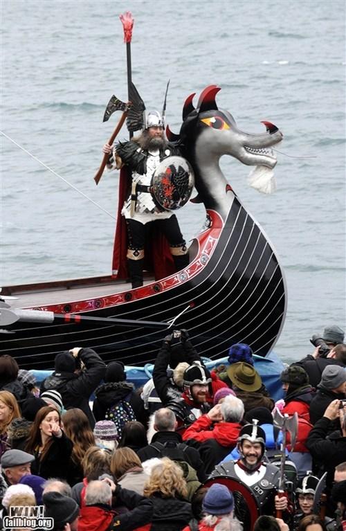 BAMF europe Historical new year Thor viking - 5769169408