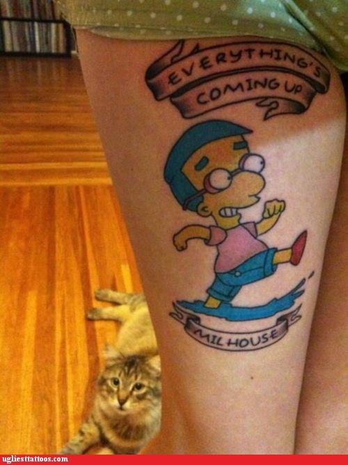 everythings-looking-up milhouse television the simpsons - 5769324544