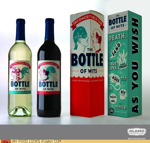 best of the week bottle label marketing Movie princess bride wine - 5769348352