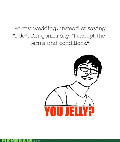 accept conditions marriage Rage Comics terms wedding - 5769403136