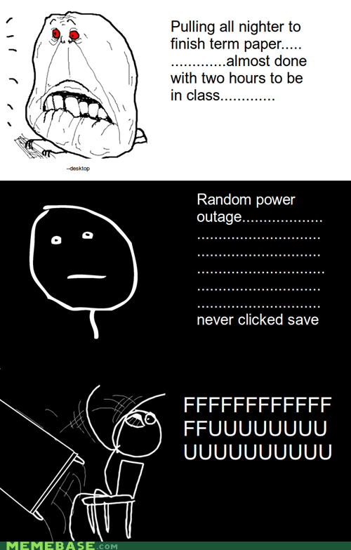 desk,paper,rage,Rage Comics,save,school