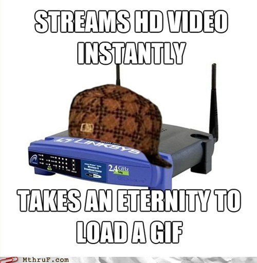 gifs HD video scumbag router wireless