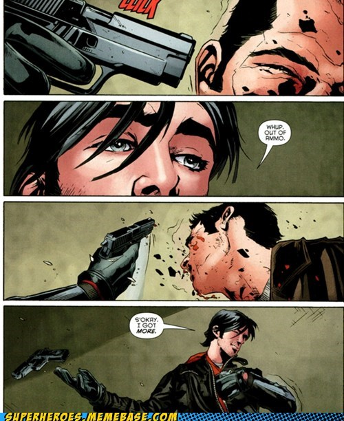 guns,jason todd,prepared,robin,Straight off the Page