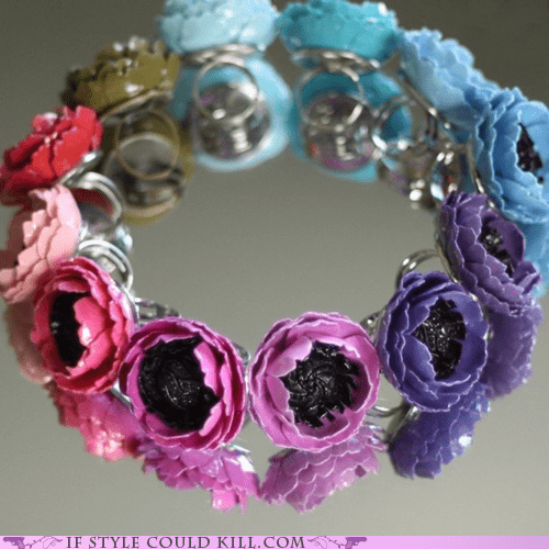 cool accessories flowers ring of the day rings - 5769474048