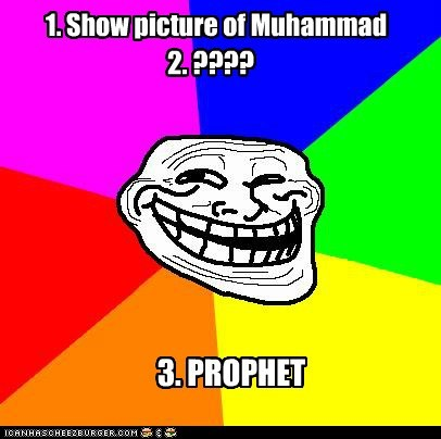 muhammad picture profit troll face - 5769537792