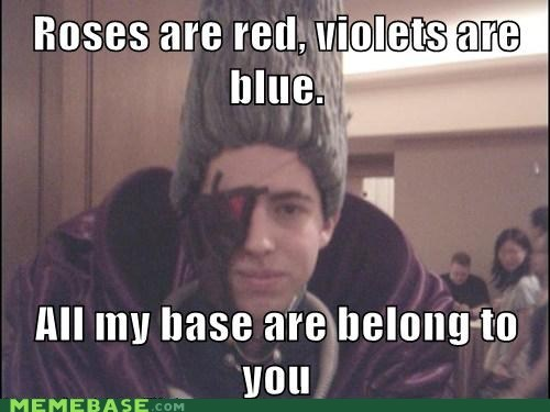 all your base Memes roses valentines video games - 5769552896