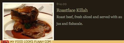fake,hip hop,menu,rap,restaurant,roastface killah
