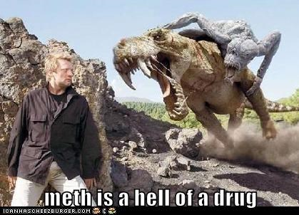 dinosaurs,douglas henshall,drug,meth,nick cutter,Not Even Once,Primeval