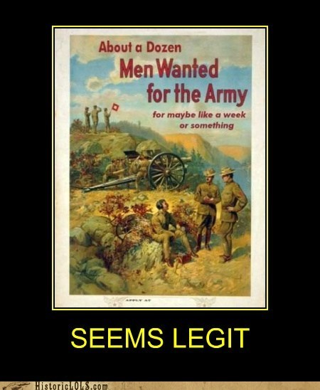 demotivational fake funny historic lols illustration military war - 5769957632