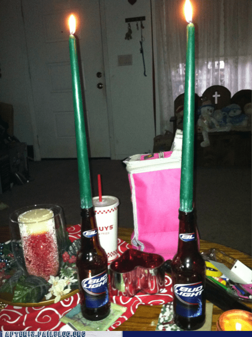 beer beer bottle bottle candles romantic Valentines day - 5770297088