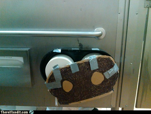 bathroom cardboard duct tape Professional At Work - 5770951936