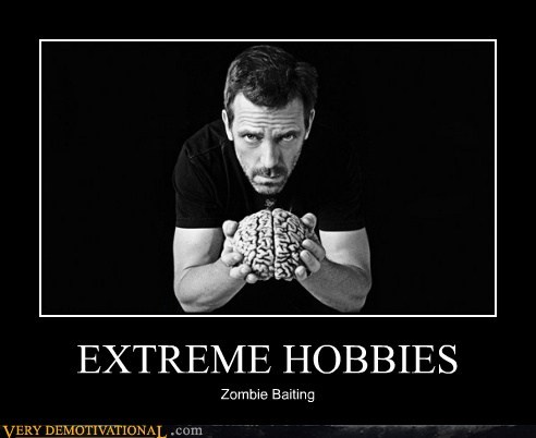 EXTREME HOBBIES Zombie Baiting