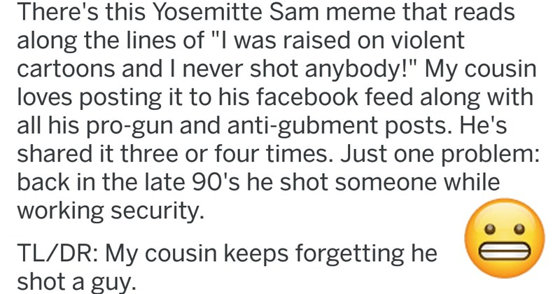 cringey social media