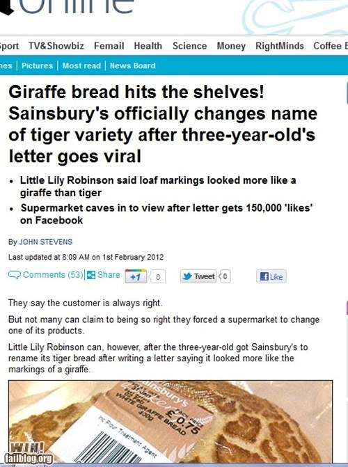animals bread completely relevant news letter name viral - 5771734528